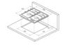 Газовая панель KUPPERSBERG FV6TGRZ ANT Silver 1