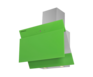Вытяжка Maunfeld Tower Lux 60 зеленый 1