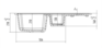 Мойка Kuppersberg ALBA 1,5B1D 8