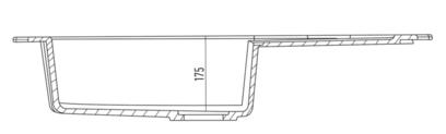 Мойка Kuppersberg GRANDA 1B1D