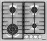 Газовая варочная панель Maunfeld MGHS.64.74S