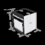 Газовый духовой шкаф Maunfeld MGOG.673W 1