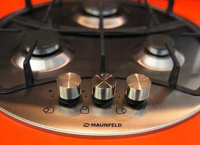 Круглая газовая панель Maunfeld MGHS.53.71S