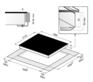 Индукционная панель Korting HI 6450 RI 3