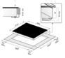 Стеклокерамическая панель Korting HI 6203 B 1
