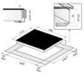 Индукционная панель Korting HI 6402 X 2