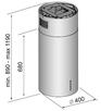 Вытяжка Korting KHA 4970 X Cylinder 1