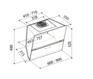 Вытяжка Korting KHC 99080 GW 2