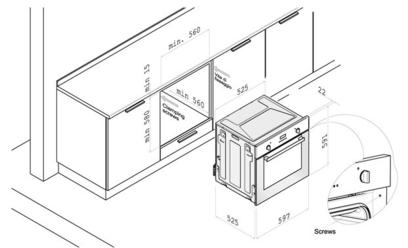 Духовой шкаф Korting OKB 560 CFX