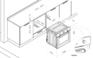 Духовой шкаф Korting OKB 552 CFX 4