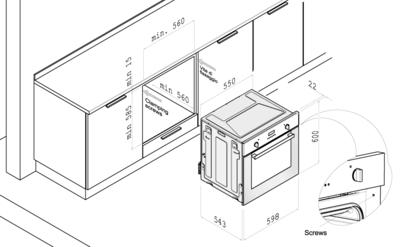 Духовой шкаф Korting OKB 792 PFX