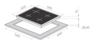 Комбинированная поверхность MAUNFELD MEHS.64.98S 1