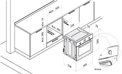 Духовой шкаф Korting OKB 481 CRB