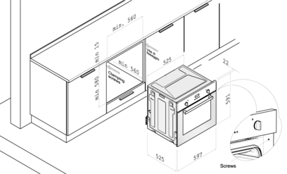Газовый духовой шкаф Korting OEG 771 CFX