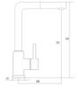 Смеситель Kuppersberg GEO KG2385CR 5