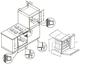 Комплект Maunfeld: панель MGHG.43.12W + электрический шкаф MEOC.674W 4