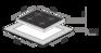 Комплект Maunfeld: панель MGHG.64.17RIB + газовый шкаф MGOGG.673RIB.TM 2