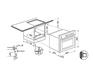 Комплект Kuppersberg: панель FQ 663 C + газовый шкаф SGG 663 C 4