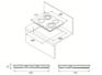 Комплект Kuppersberg: панель FA6VS02 + электрический шкаф HO 655 T 2