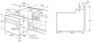 Комплект Korting: панель HG 695 CX + газовый шкаф OGG 772 CFX 4
