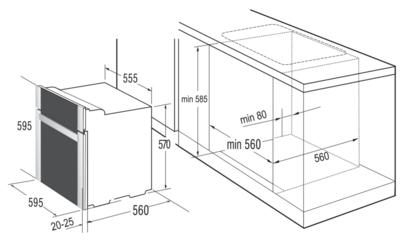 Комплект Korting: панель HG 630 CTSI + электрический шкаф OKB 482 CRSI