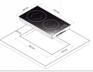 Индукционная панель Korting HI 32003 B 1