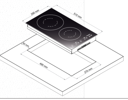 Индукционная панель Korting HI 32003 BW
