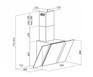 Вытяжка Maunfeld Trent Glass 50 черный/серебристый 2