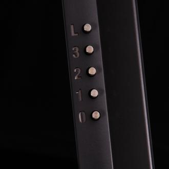 Вытяжка Maunfeld Trent Glass 60 черный/серебристый