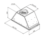 Вытяжка Zigmund & Shtain K 003.51 S 1