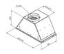 Вытяжка Zigmund & Shtain K 003.71 W 1