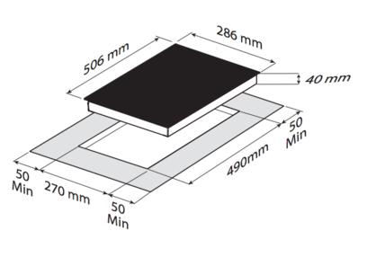 Электрическая панель Zigmund & Shtain CNS 302.30 BX