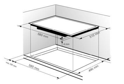 Электрическая панель Zigmund & Shtain CNS 269.60 BX