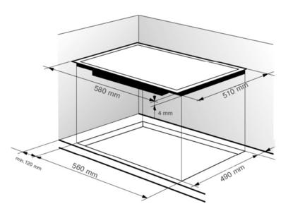 Электрическая панель Zigmund & Shtain CNS 333.60 BK