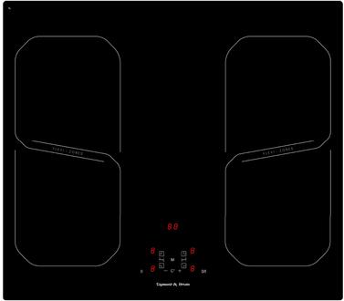 Индукционная панель Zigmund & Shtain CIS 209.60 BK
