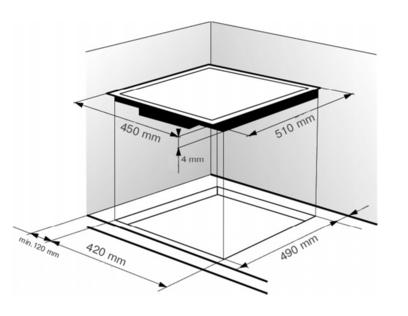 Индукционная панель Zigmund & Shtain CIS 029.45 BX