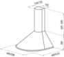 Вытяжка Maunfeld DERBY 60 белый 2
