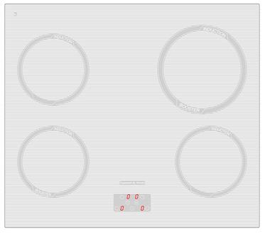 Индукционная панель Zigmund & Shtain CIS 299.60 WX