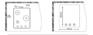 Комплект Zigmund&Shtain: панель GN 58.451 B + шкаф EN 242.622 S 2