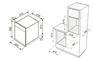 Комплект Zigmund&Shtain: панель GN 58.451 B + шкаф EN 242.622 S 4
