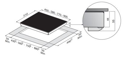 Электрическая панель Zigmund & Shtain CNS 024.60 BX
