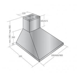 Вытяжка AKPO WK-4 Classic eco 60 белый