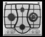 Газовая панель Maunfeld GH 624 S-ECI