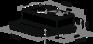 Вытяжка Maunfeld CLYDE C 50 черный 2