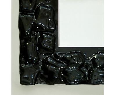 Зеркало Dubiel Vitrum Pompea Rectangle 65х80 (черное стекло)