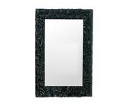 Зеркало Dubiel Vitrum Pompea Rectangle 80х90 (белое стекло)