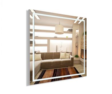 Зеркало с подсветкой Dubiel Vitrum Volano 66,5x66,5