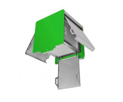 Вытяжка Maunfeld BOX QUADRO 40 зеленый