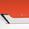 Вытяжка Maunfeld BOX QUADRO 40 оранжевый 3