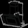 Вытяжка Maunfeld TOWER CS 50 черный 2